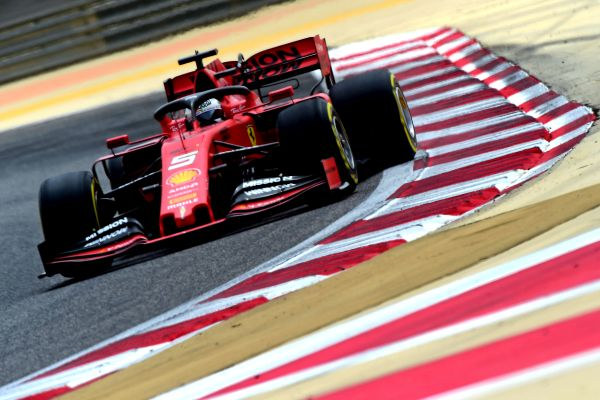 Vettel rounds off the work in Sakhir with 103 laps on the SF90