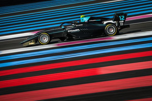 HWA RACELAB makes successful start to new era at the Formula 3 tests