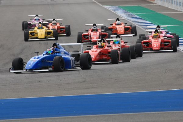 F4 SEA Buriram race results and standings