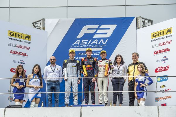 Red Bull Junior Driver Jack Doohan takes Maiden F3 Asian Championship Victory