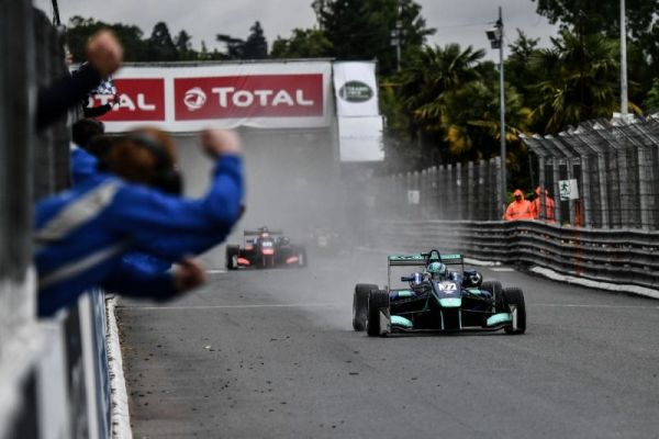 Billy Monger makes history with Grand Prix de Pau victory