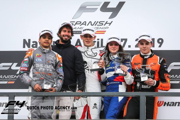 Franco Colapinto leads Drivex assault on F4 Spain's Paul Ricard round