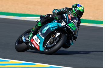 Second row start for Morbidelli after tricky qualifying in Le Mans