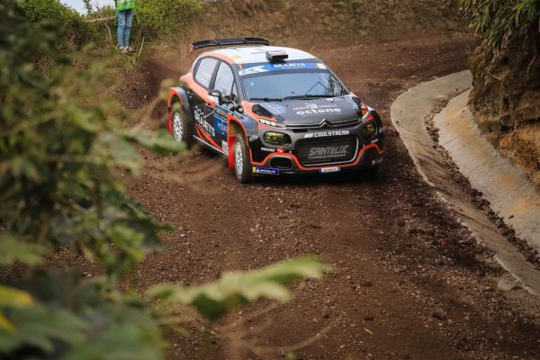 ERC Azores Rally standings after stage 2
