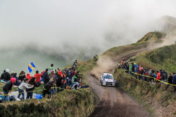 ERC Azores Rally standings after stage 1