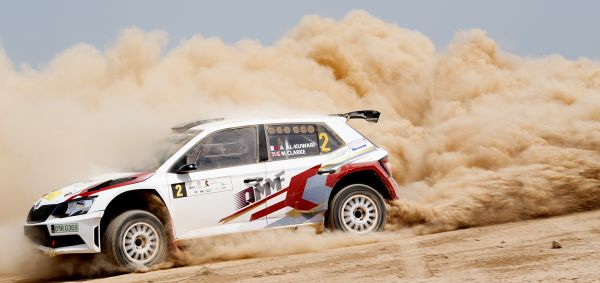 Qatar International Rally standings after day 2, stage 5