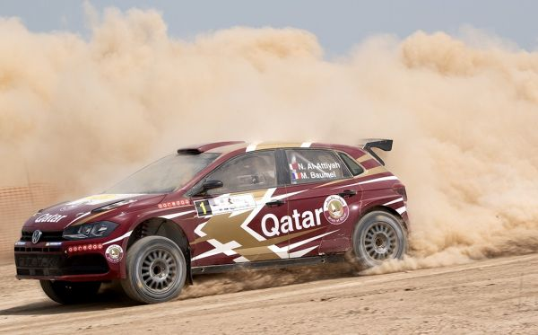 Al-Attiyah delivers mint start and extends his lead in Qatar International Rally