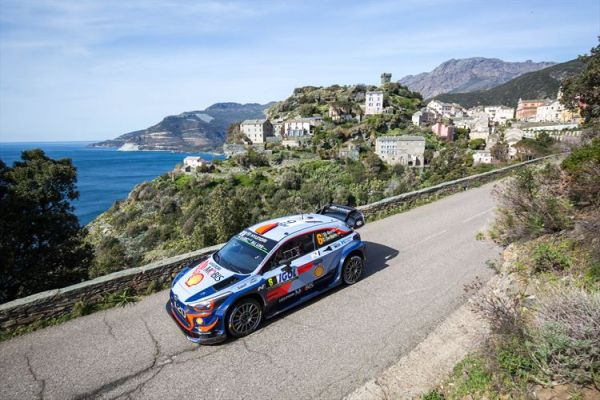 Hyundai aims at comeback on tight, twisty Tour de Corse rally stages