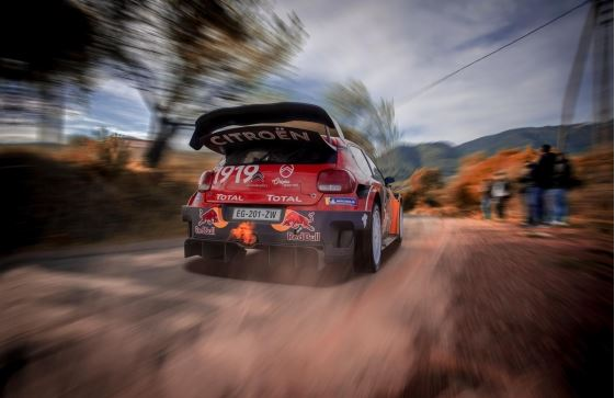 Citroen Total World Rally team sets sail for Corsica