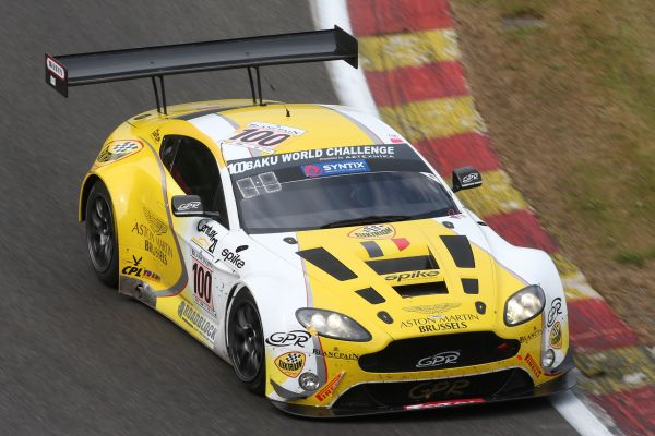 Aston Martin Brussels by GPR Racing s'offre le prologue !
