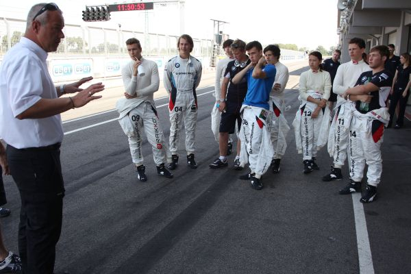 Dress rehearsal at the Slovakiaring
