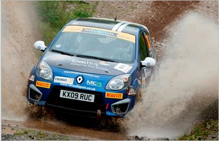 Blank canvas for Twingo Trophy in Ulster