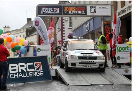 Ross Hunter resolves Todds Leap Ulster Challenge Rally 1 unknown