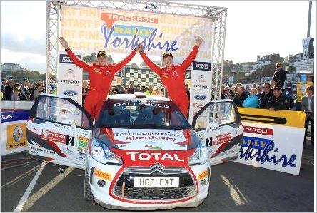 Rally Yorkshire steps down from BRC in 2014