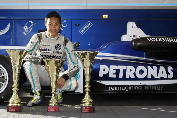 Jazeman Jaafar's proven F3 experience produces two wins and three podiums