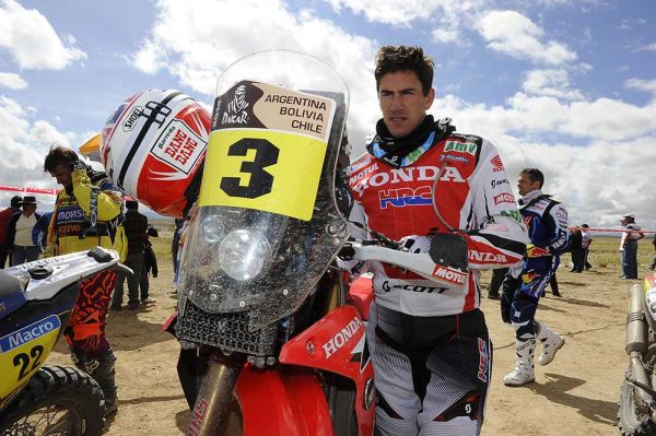 Joan Barreda hits troubles in Dakar stage 12