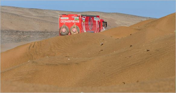 DongFeng Dakar stage 12 review