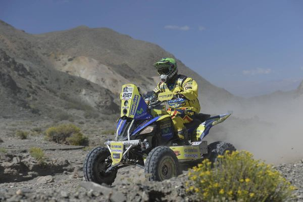 Quads final overall standings in Dakar - Casale winner!