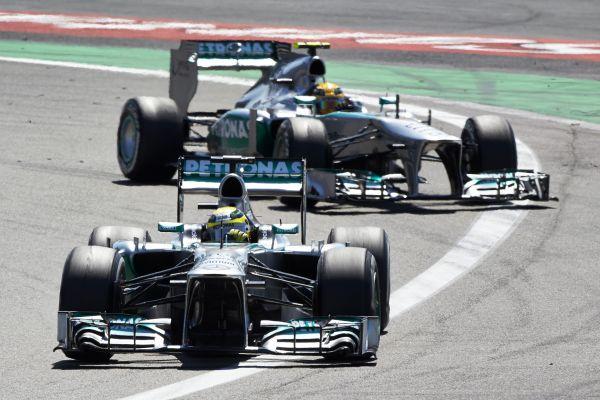 Mercedes AMG Petronas F1 Nürburgring race review