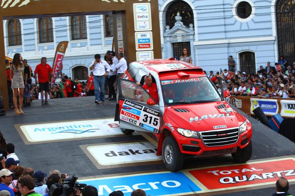 GWM/Haval achieves another Top 10 position in Dakar 2014