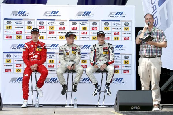 Felix Rosenqvist takes victory in race 3 at Norisring