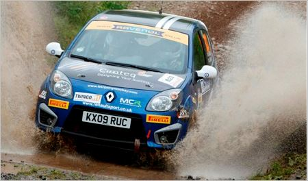 Twingo Renaultsport Trophy UK RSAC Scottish Rally review