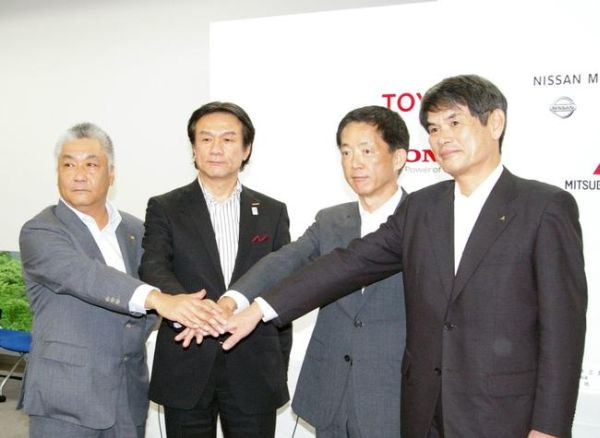 Toyota, Nissan, Honda and Mitsubishi Agree to Joint Development of Charging Infrastructure