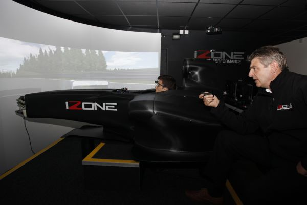 Formula BMW Talent Cup Simulator training in Silverstone