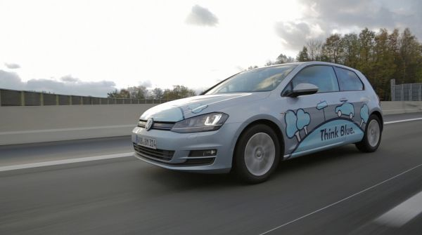 VW Golf TDI BlueMotion achieves 2.92 l/100 km for the first time