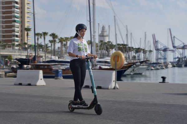 SEAT and UFO introduce kicksharing in Málaga