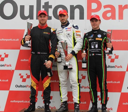 Two more podiums for Chris Dittmann Racing in F3 Cup at Oulton Park