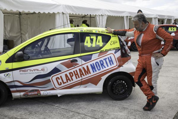 Clapham North MOT powers to sixth in Pembrey Citroen C1 opener