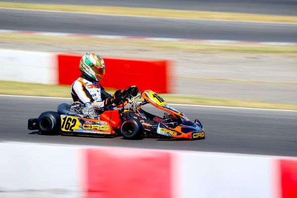Positive weekend for Paolo de Conto in KZ2 at the WSK Euro Series in Lonato