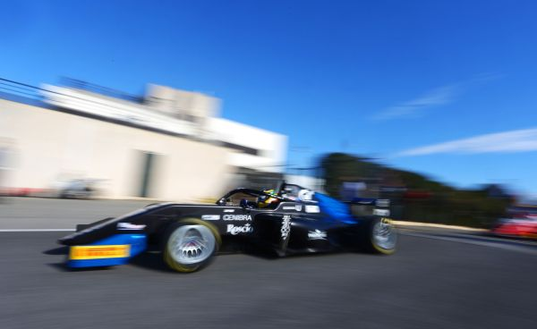 DR Formula by RP Motorsport's Igor Omura Fraga ends Hungaroring official test with 2nd time