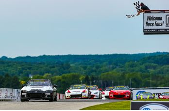 Noaker Takes Battery Tender®  Global Mazda MX-5 Cup Victory in Last Lap Shootout at Road America