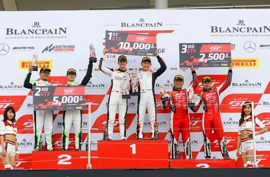Wins in all classes for Porsche Motorsport Asia Pacific customers at Blancpain GT World Challenge Asia Suzuka round