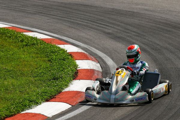 Tony Kart first at the European Championship in Sarno for KZ