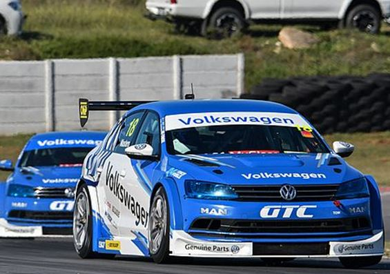 Global Touring Cars South Africa - Masters on the podium in the Jetta