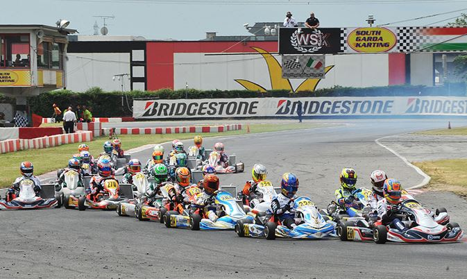 Chasing the leaders of WSK Euro Series started in Lonato.