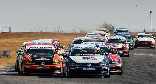 VW Polo Cup- Thrilling race for Liebenberg and Kruger, Robertson returns