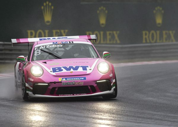 Al-Zubair qualifies in sixth for Porsche Mobil 1 Super Cup race in Hungary