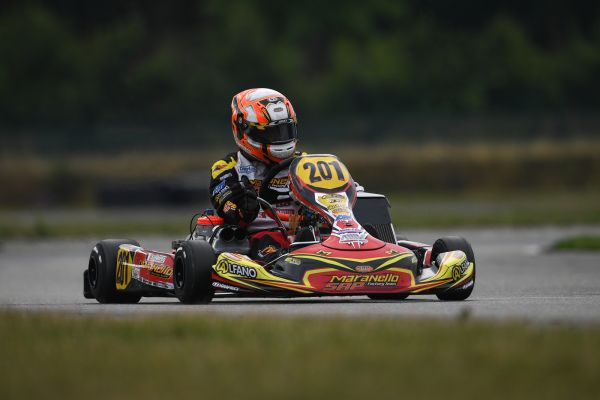 An incident stopped Federer run in DKM's KZ2 at Genk