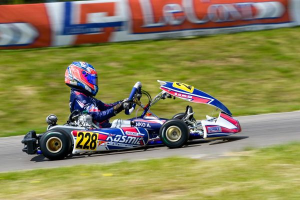 Kosmic Kart at the final stage of the European Championship