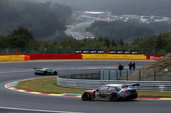 Walkenhorst Motorsport BMW M6 GT3 reaches 11th place after chasing performance in Spa-Francorchamps.