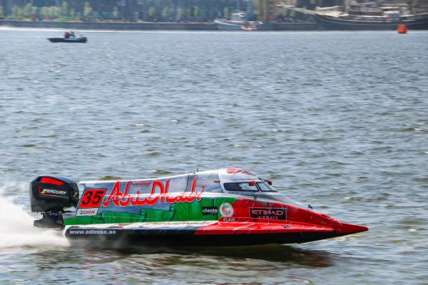 Team Abu Dhabi's Al Qemzi extends lead in F2 World Title race in Norway