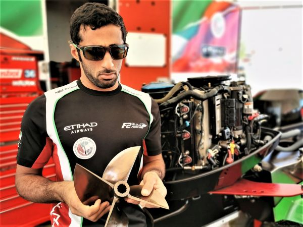Team Abu Dhabi's Al Qemzi sets hot pace for Grand Prix of Norway