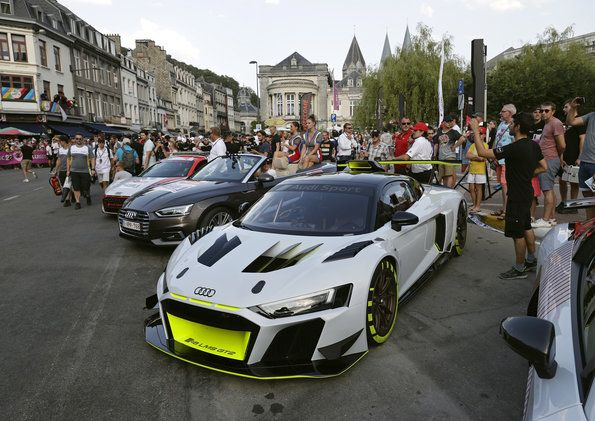 Prominent Appearance Of The Audi R8 Lms Gt2 At Spa Automobilsport Com