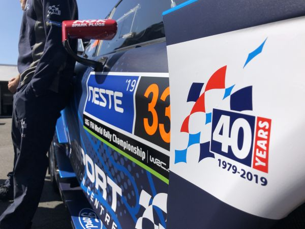 M-Sport celebrating 40 years in business