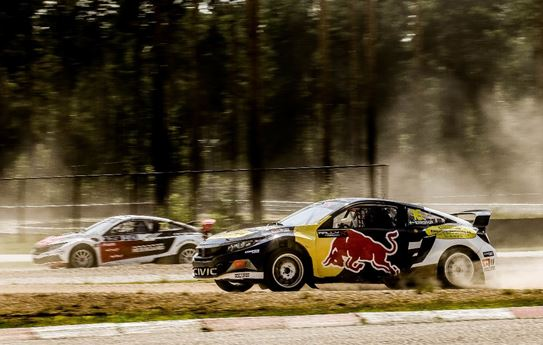RallyX Nordic Finnskogbanen, Norway Entry Lists and standings