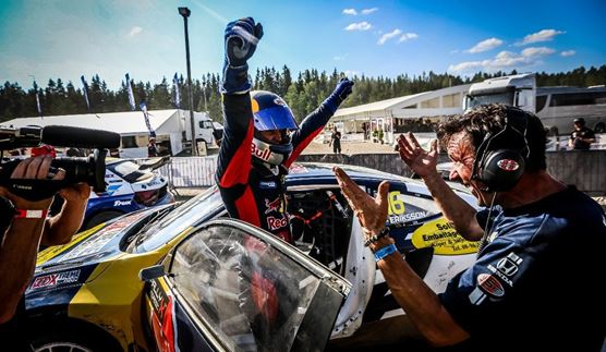 RallyX Nordic Finnskogbanen, Norway results and overall standings